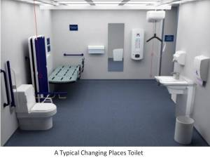 CHANGING PLACES TOILET